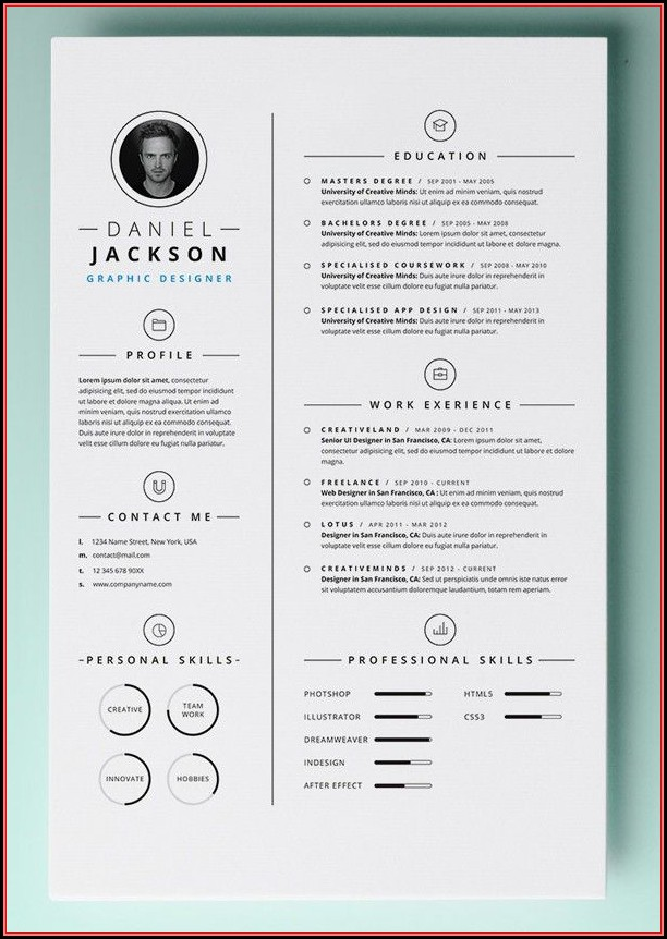 Free Cv Template For Mac