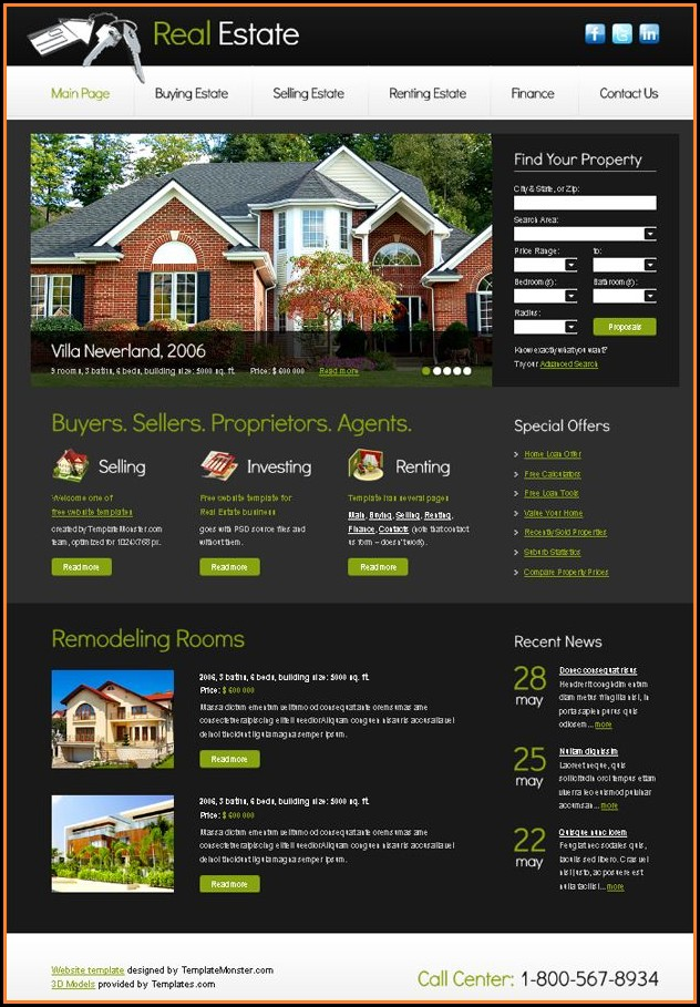 Free Real Estate Slideshow Templates