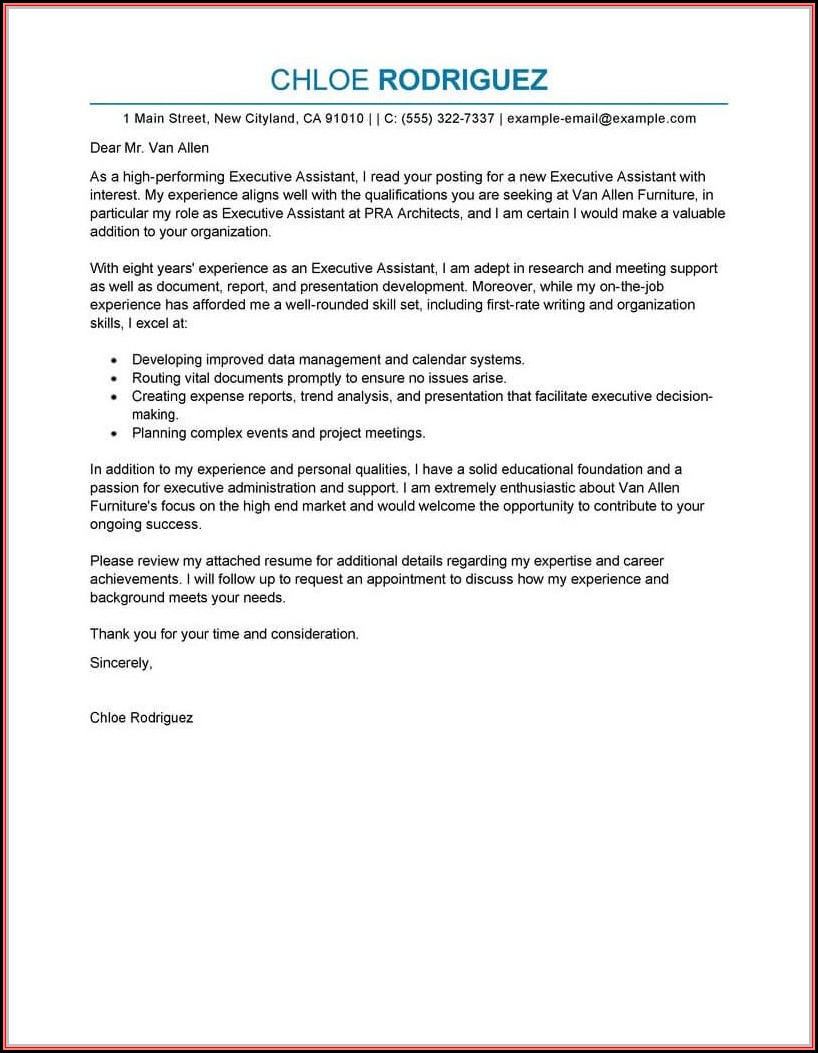 Free Template For Resume And Cover Letter