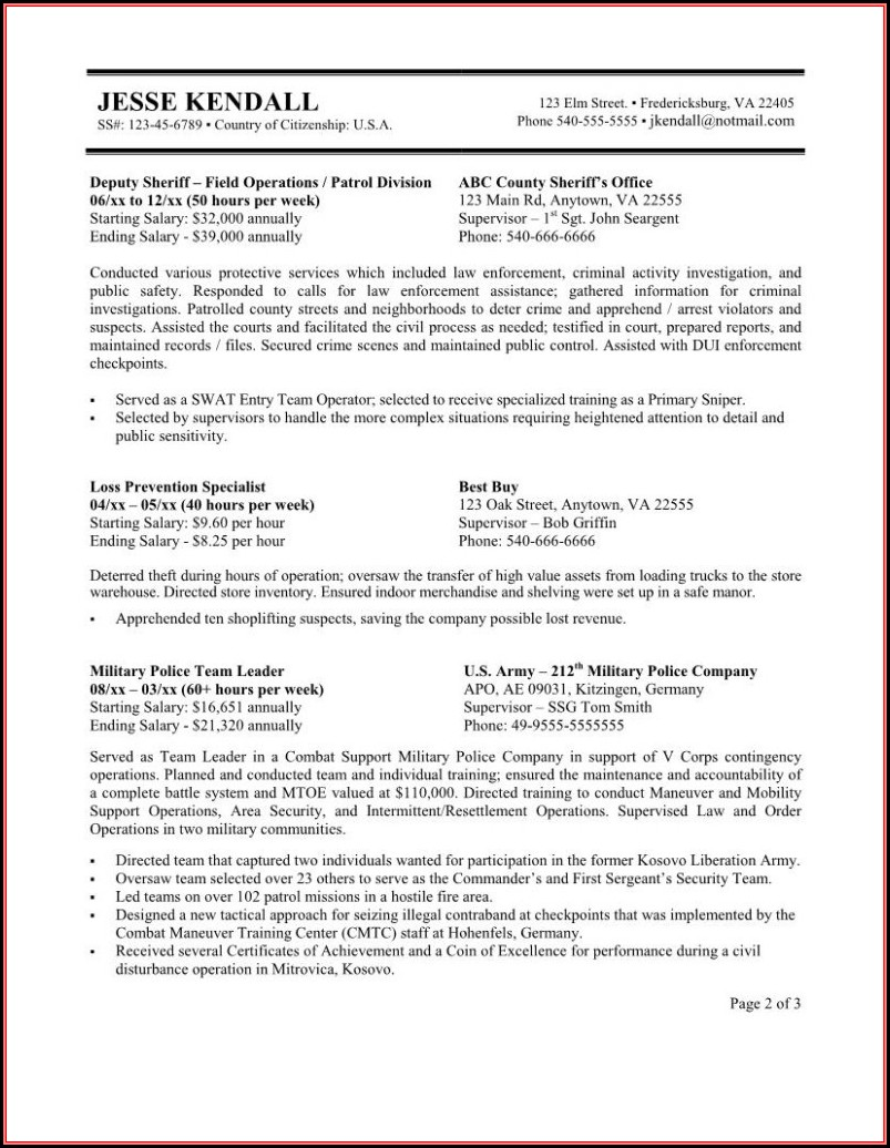 Government Resume Writing Tips