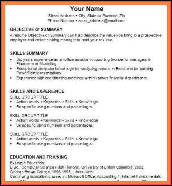 How To Make Resume For Job Interview