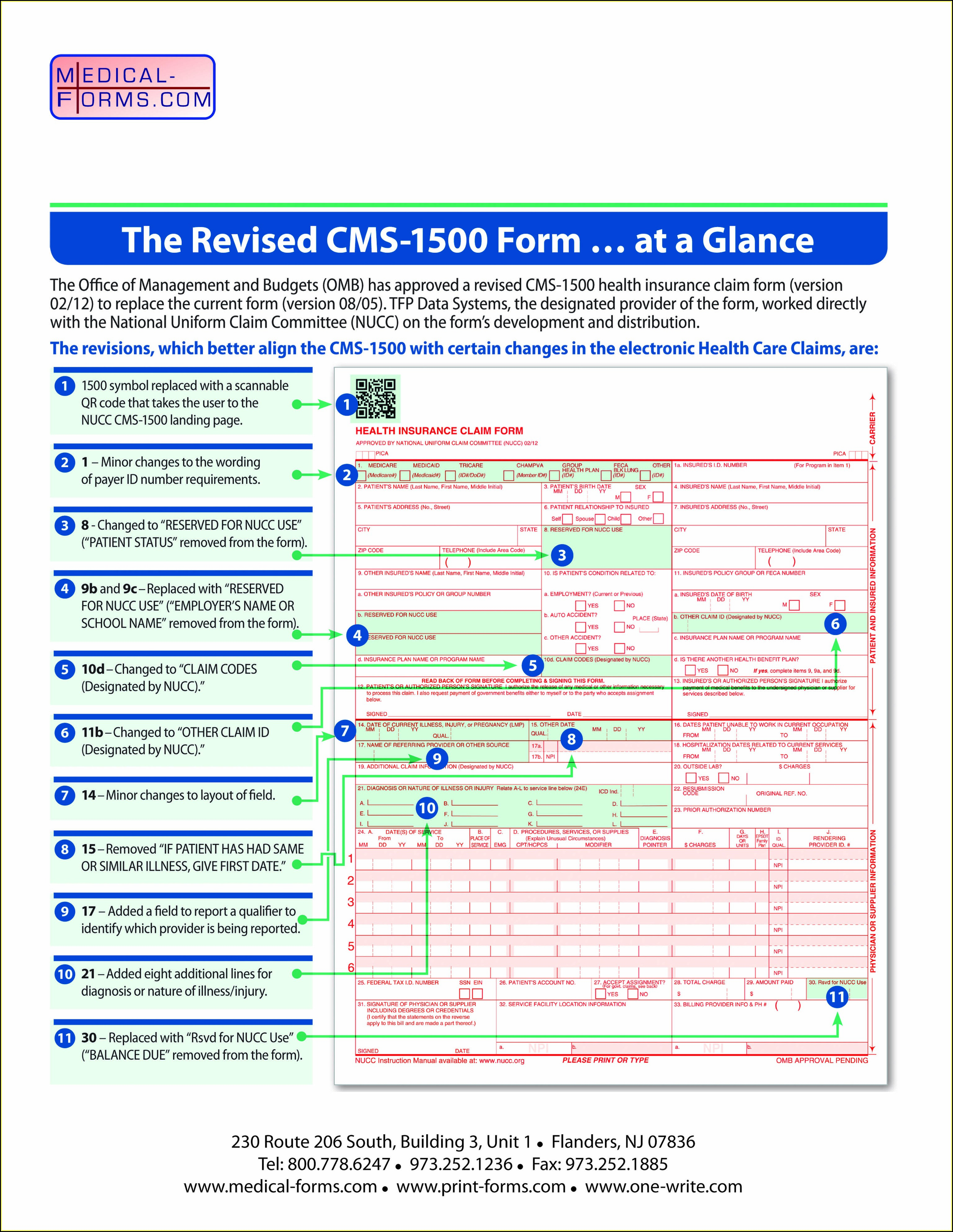 Form Cms 1500 Instructions