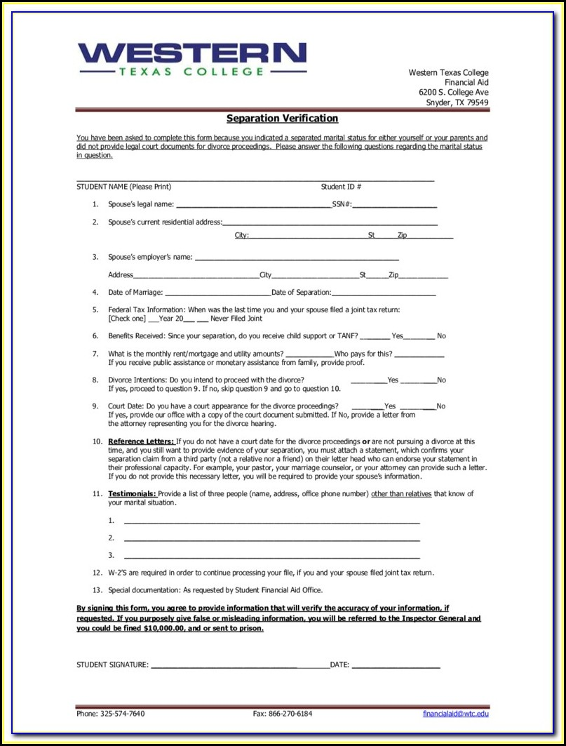 Free Divorce Forms In Texas Do It Yourself