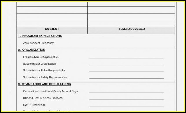 Free Scissor Lift Inspection Form