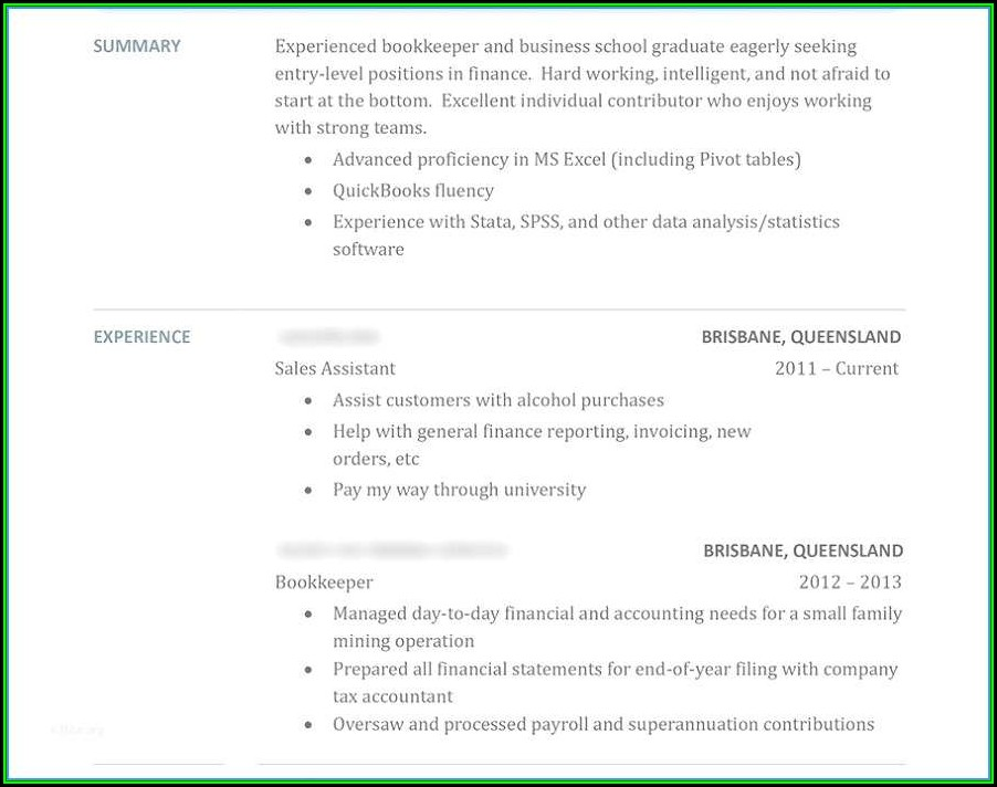 Local Professional Resume Writers
