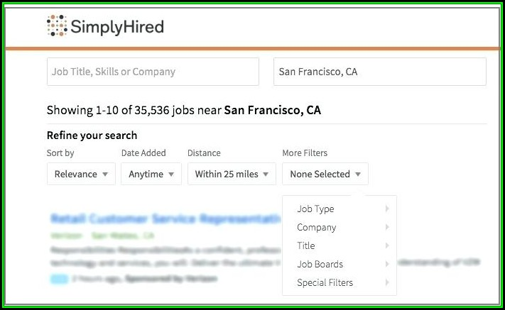 Monster Jobs Search Resumes
