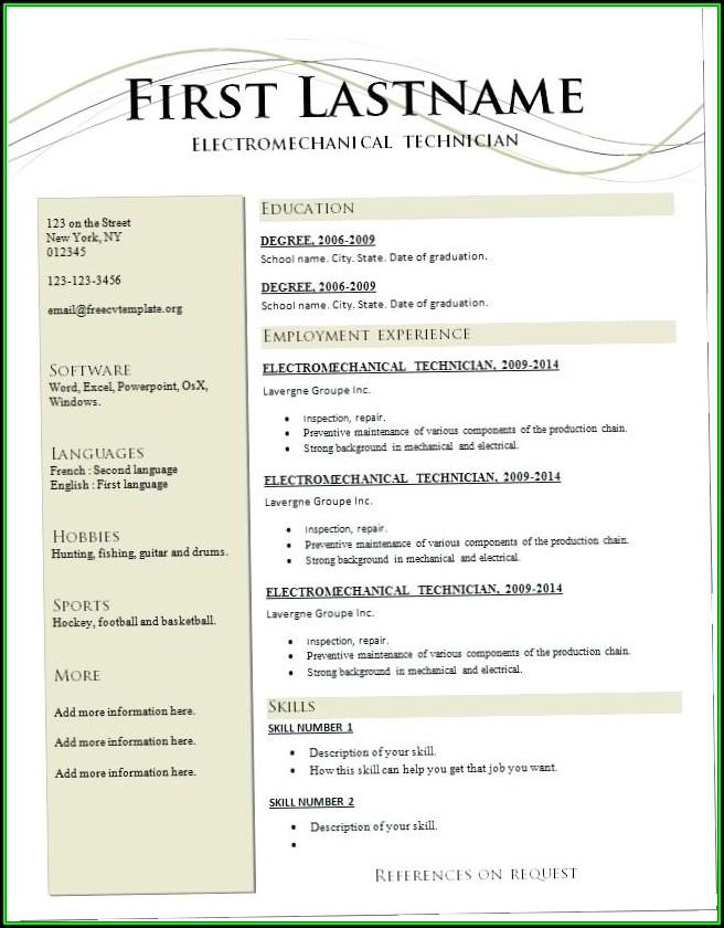 Online Resume Maker Software Free Download