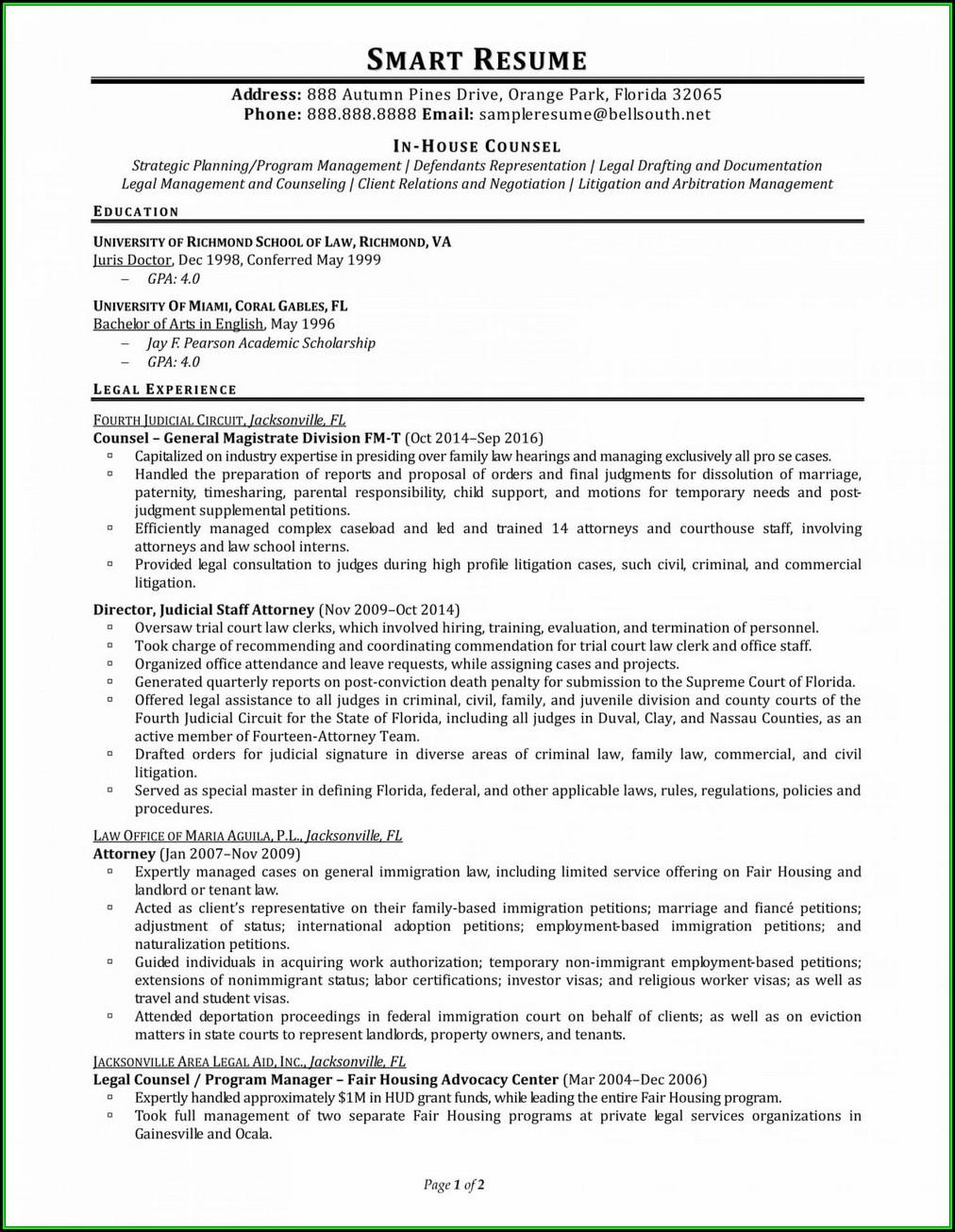 Resume Assistance Jacksonville Fl