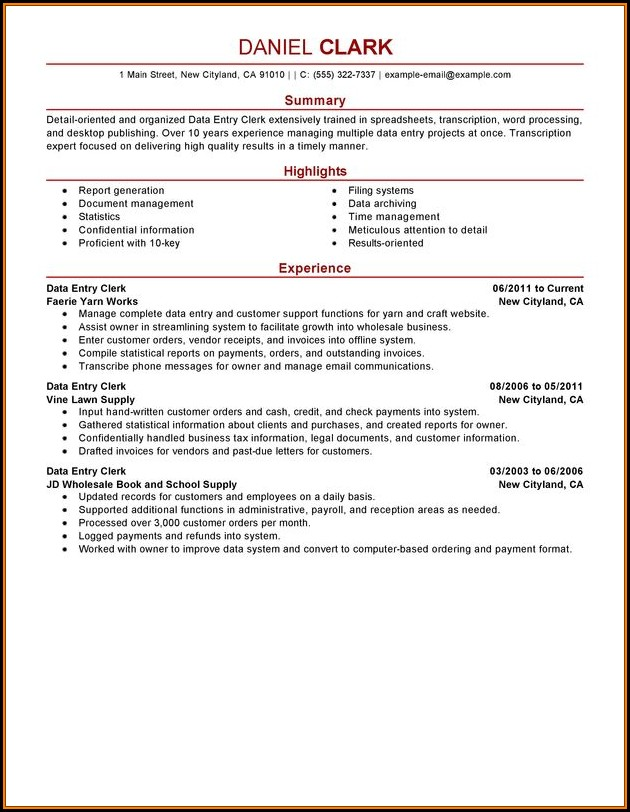 Hotel Maintenance Job Description Resume