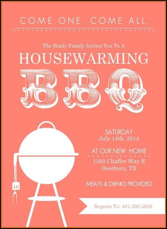 Housewarming Party Printable Templates