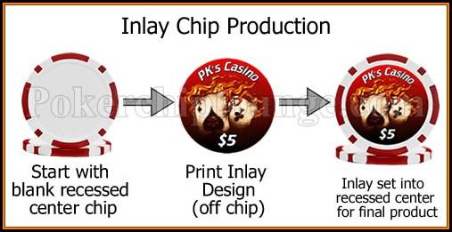 Poker Chip Sticker Template