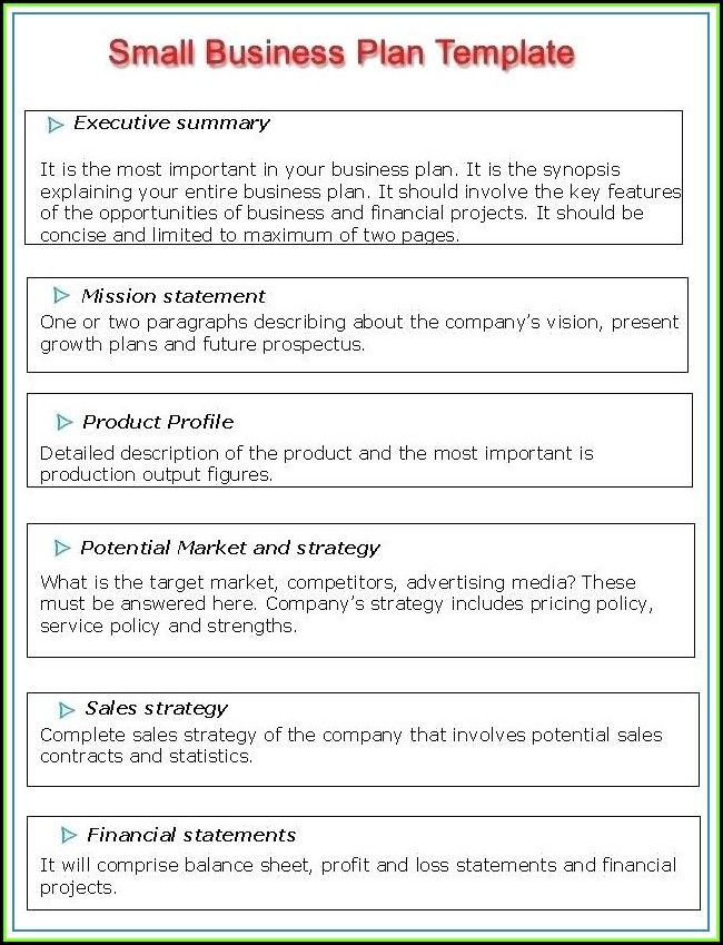 Business Investment Prospectus Template