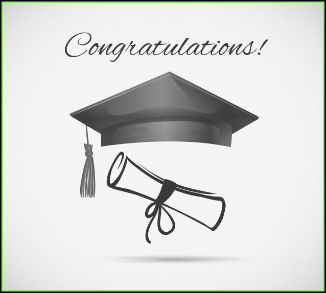 Congratulations Graduation Card Template