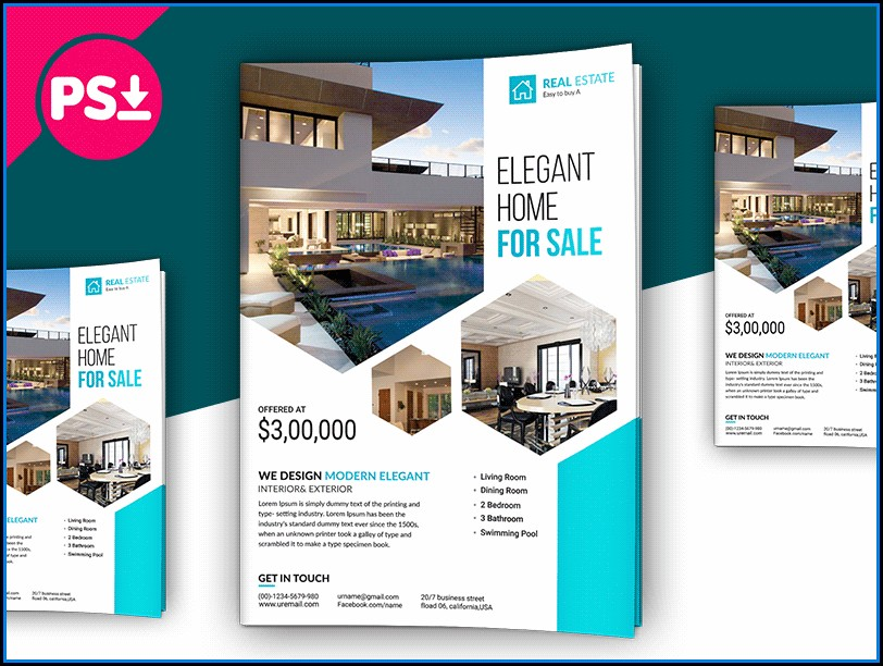 Free Download Real Estate Brochure Template (2)