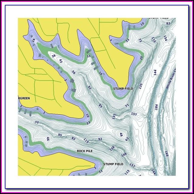 Garmin Handheld Gps With Lake Maps