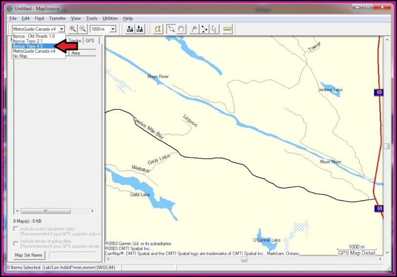 Garmin Mapsource Canada Free Download