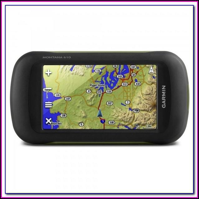 Garmin Montana 610 Maps