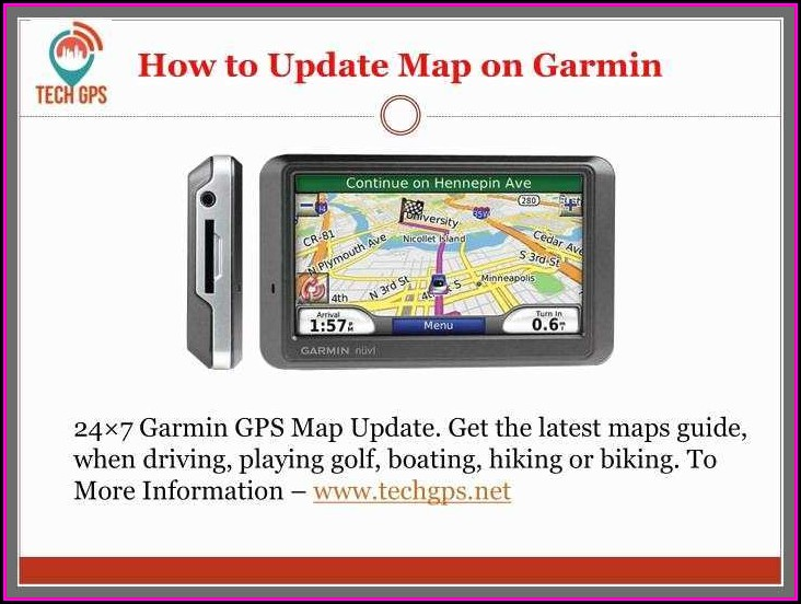 Garmin Nuvi 205 Maps Update