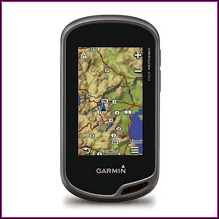 Garmin Oregon 650 Maps