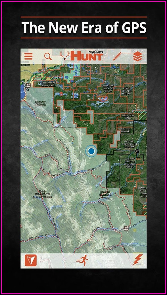 Garmin Rino 650 Hunting Maps