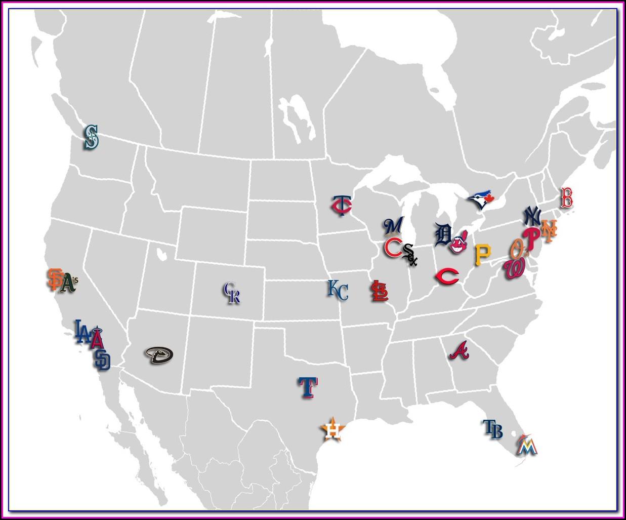 Google Map Of Mlb Stadiums