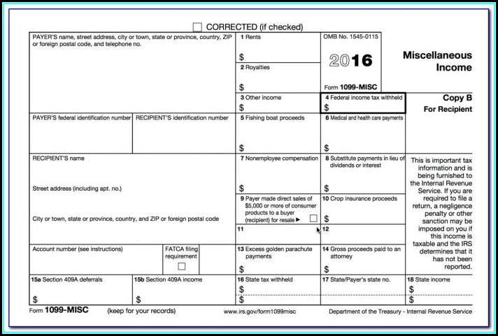 How To Make 1099 Forms In Quickbooks