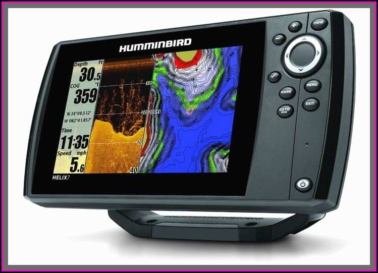 Humminbird Fish Finder Gps Maps
