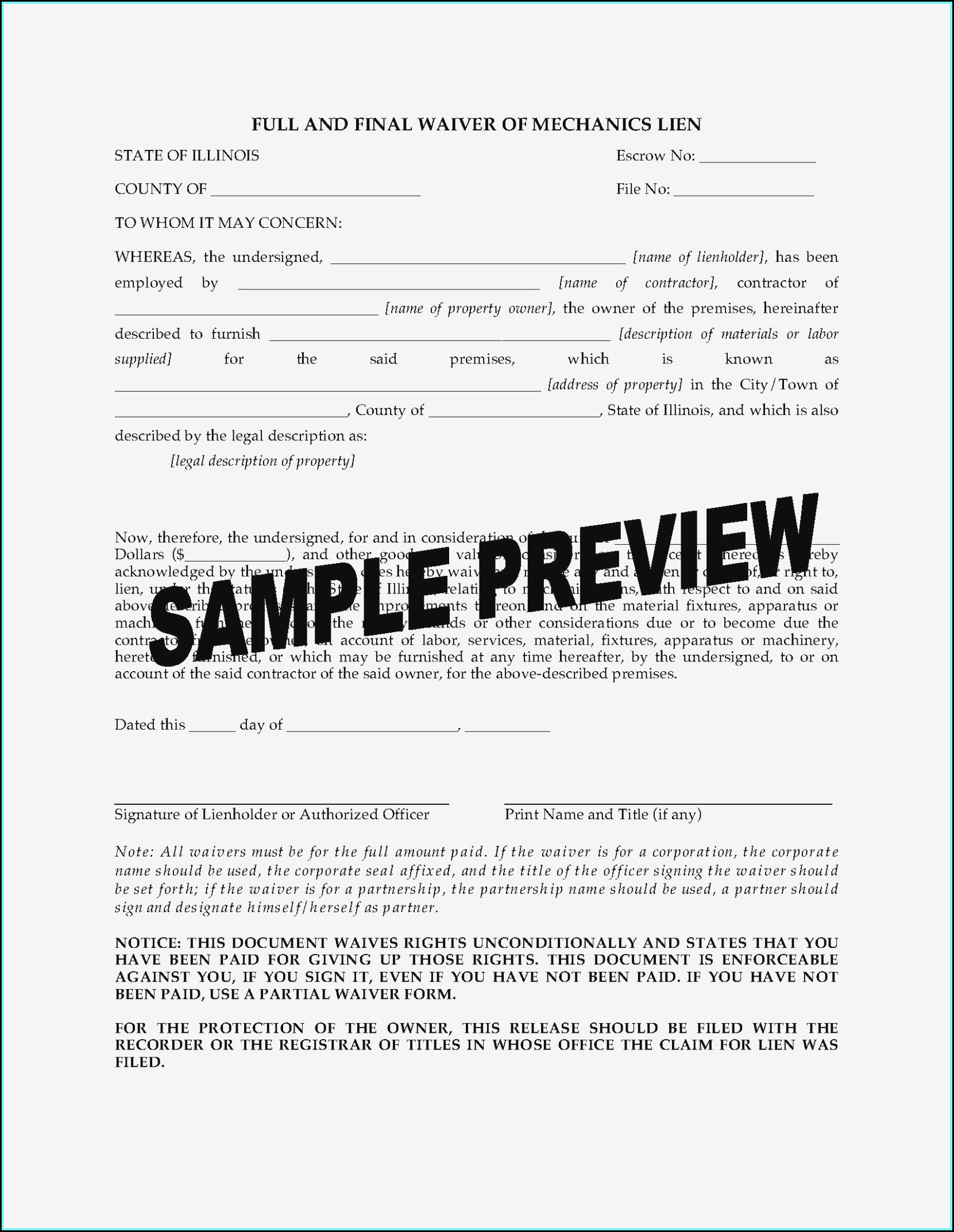 illinois-mechanics-lien-waiver-form Cover Letter Template Ymca on just basic, free pdf, google docs, microsoft office, sample email, to write,
