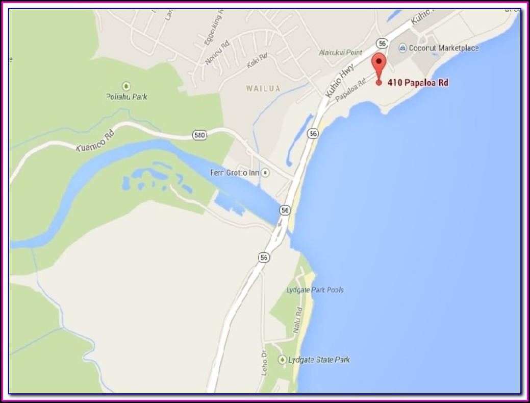 Lae Nani Resort Map