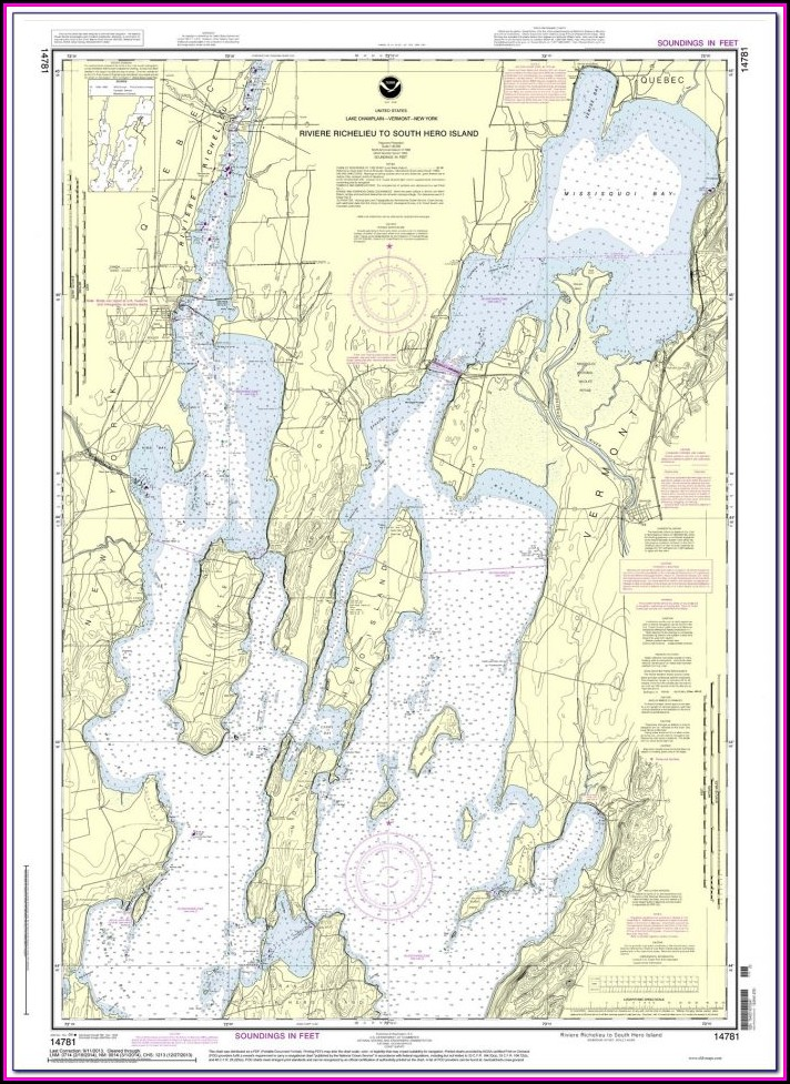 Lake Winnipesaukee Water Depth Map