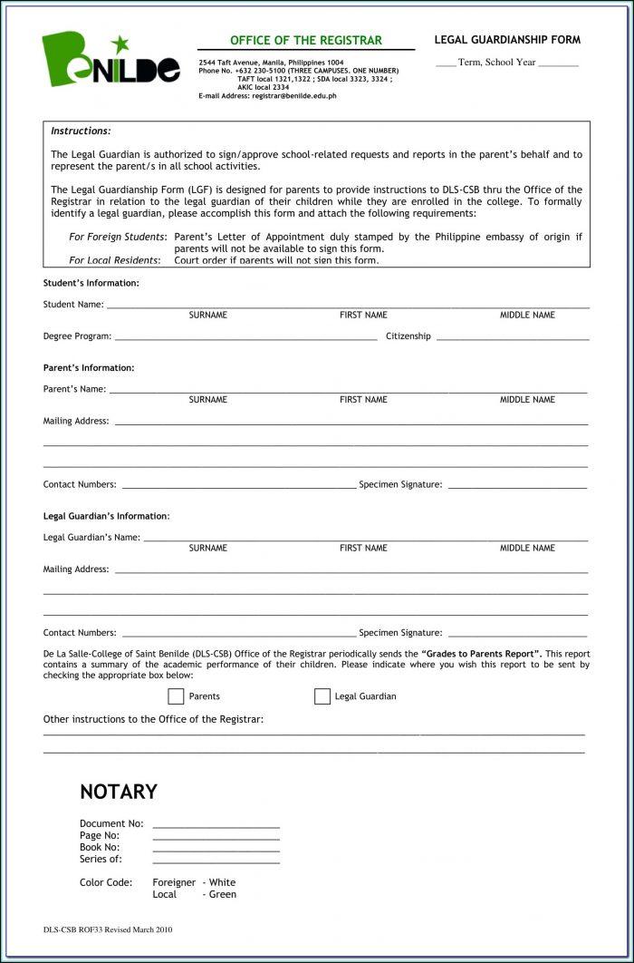 Linn County Oregon Guardianship Forms