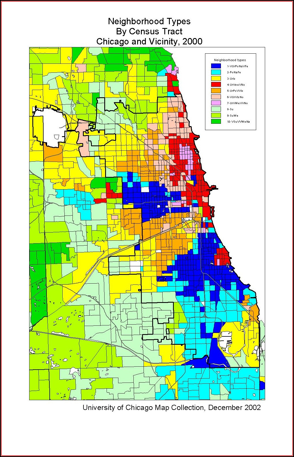 Map Of Chicago Neighborhoods By Ethnicity