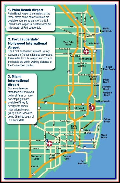 Map Of Hotels On Fort Lauderdale Beach Blvd
