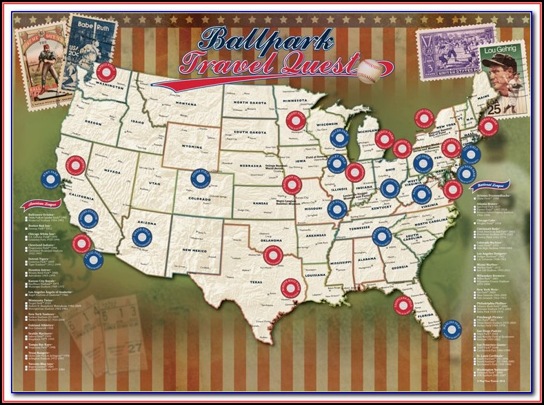 Map Of Mlb Spring Training Stadiums