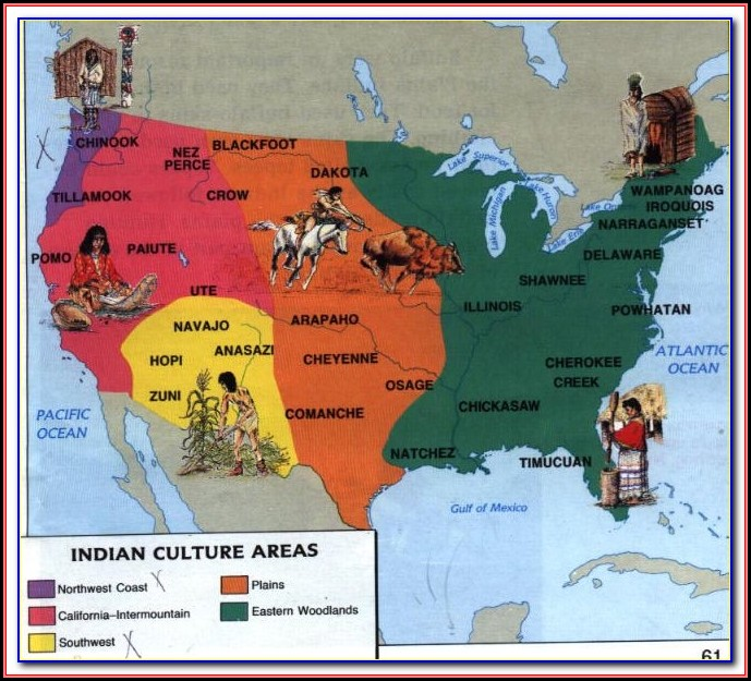 Map Of Native American Tribes In Kentucky