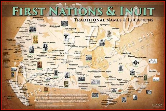 Map Of Native American Tribes Pre Columbian