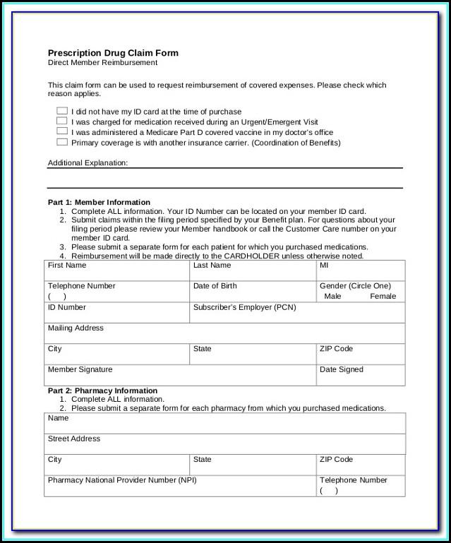 Medicare Form 1490s Instructions