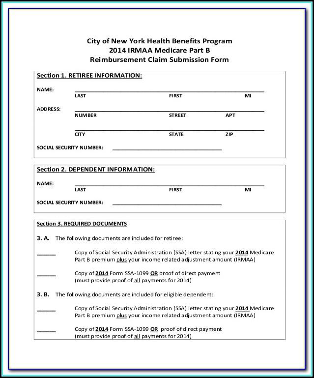 Medicare Part A Application Form