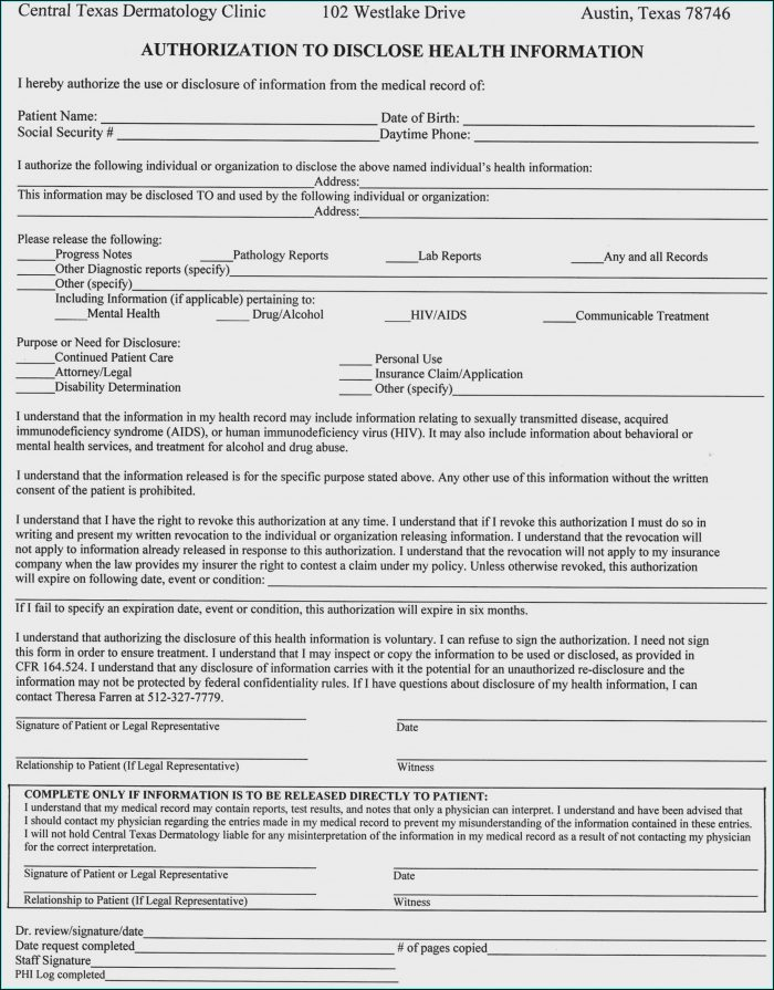 Microneedling Consent Form Template