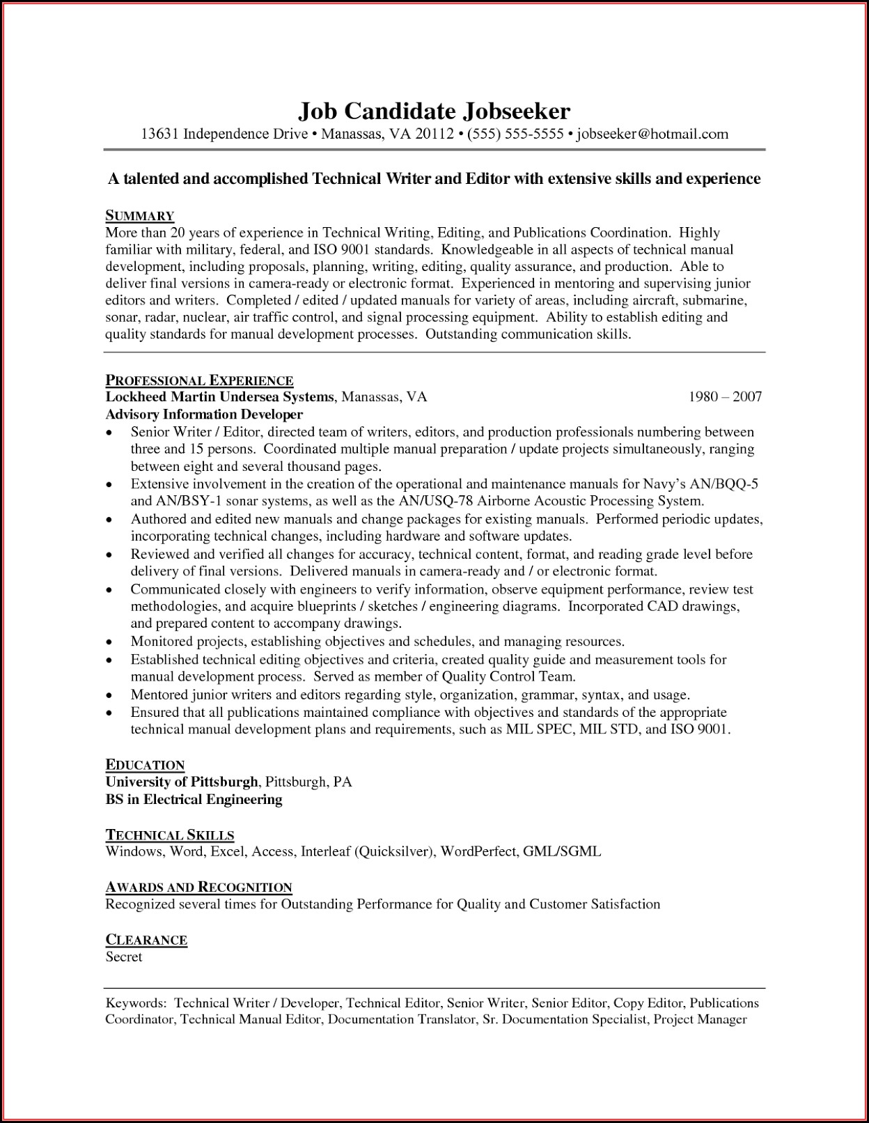 Professional resume writers richmond va