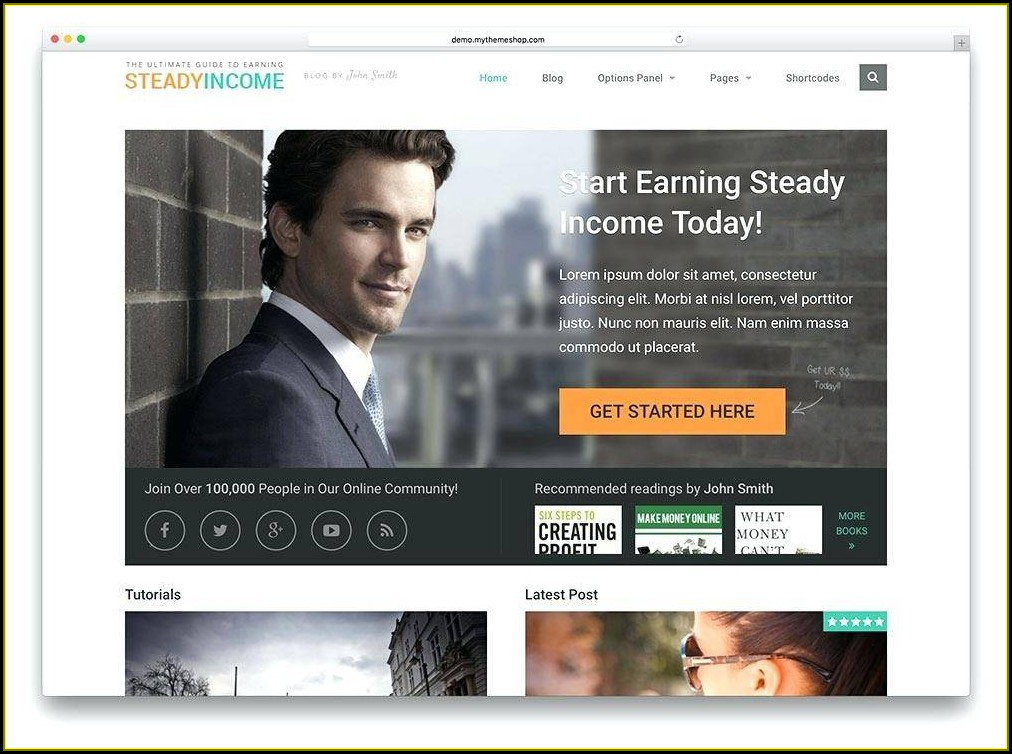 Sample Mlm Website Templates