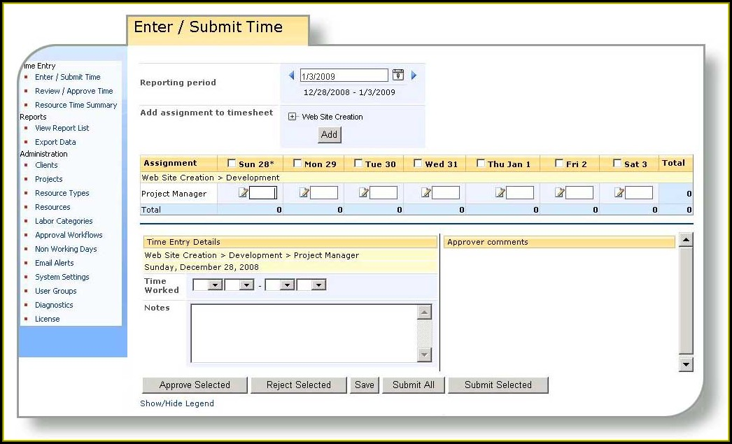 Sharepoint 2013 Template Library Template 2 Resume
