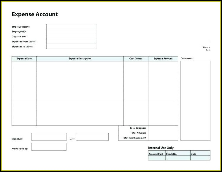 Standing Order Form Template Charity