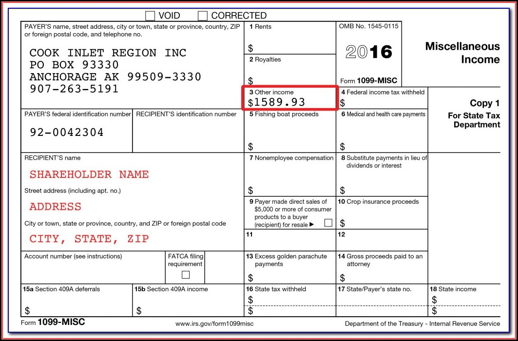 2010 Form 1099 Misc Download