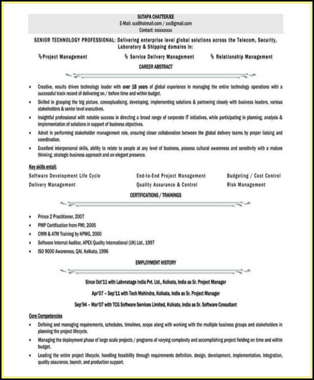 Administrative Resume Templates Free