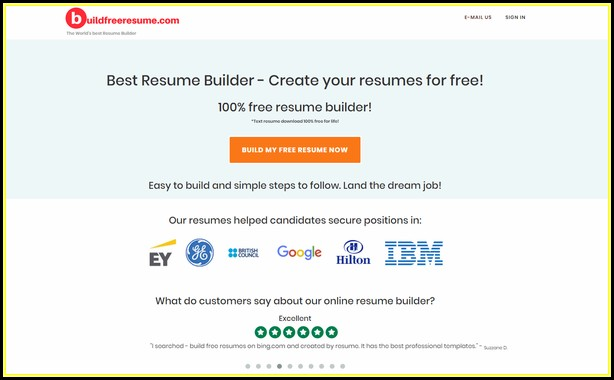 Best Online Resume Builder Free Quora
