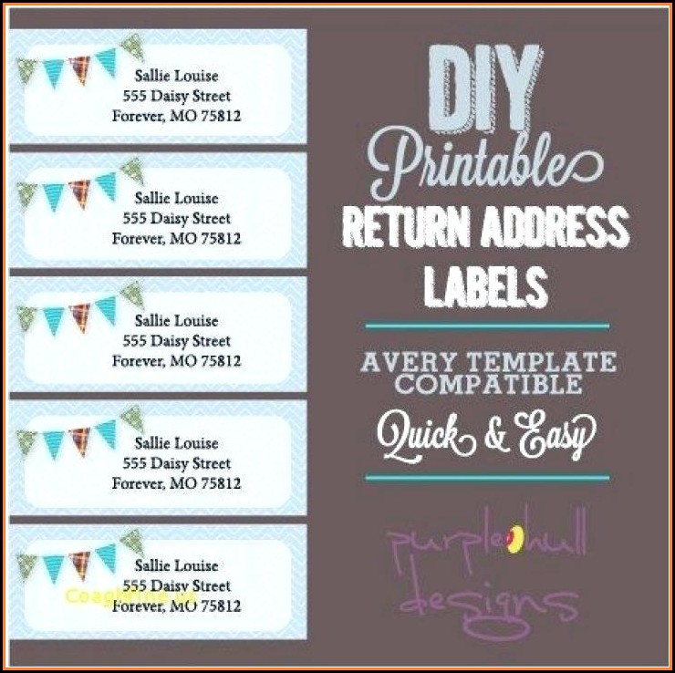 Free Return Address Label Templates