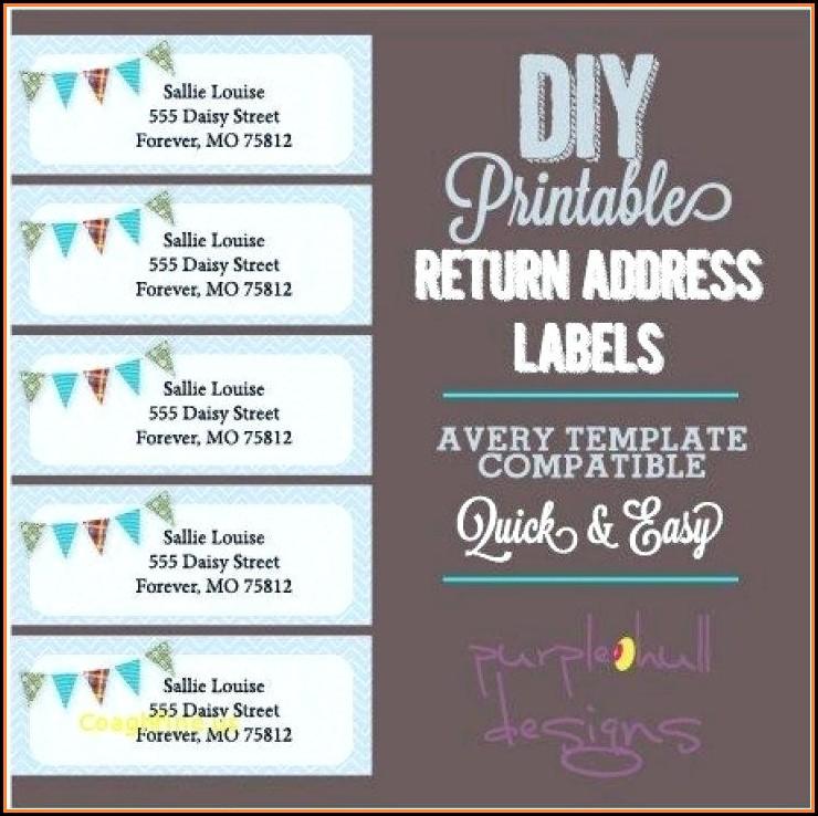 Free Return Address Label Templates