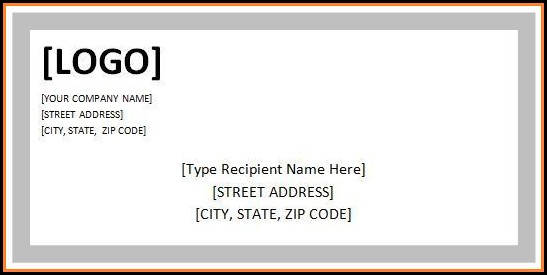 Free Shipping Address Label Template