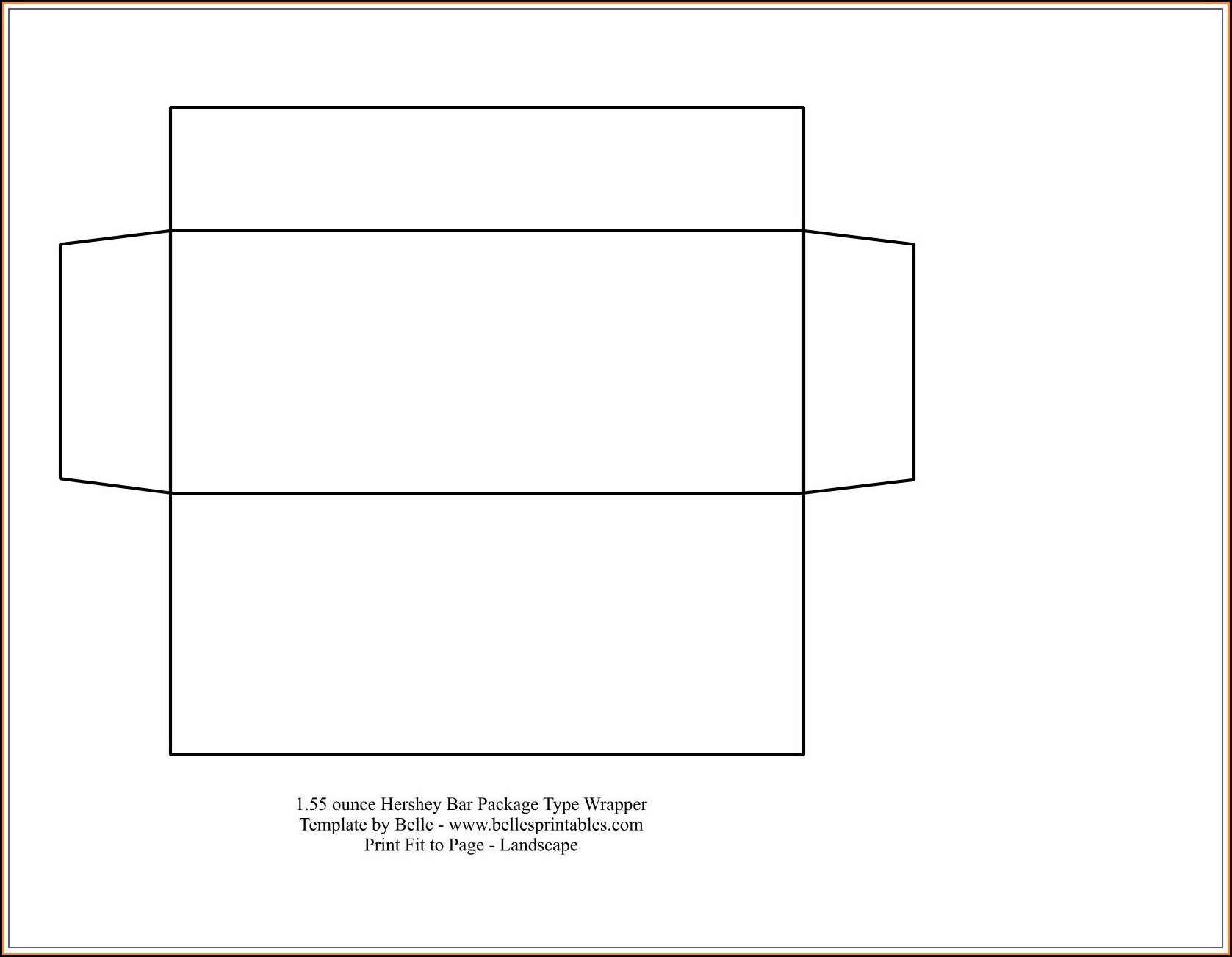 Fun Size Candy Bar Wrapper Template